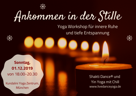 Yoga Workshop innere Stille
